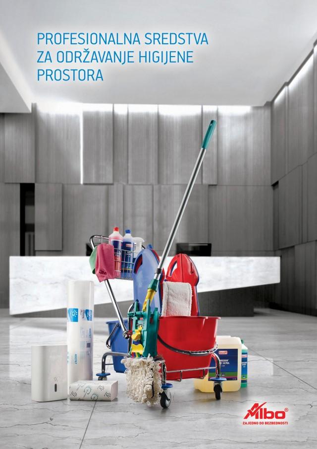 Katalog - Profesionalna sredstva za održavanje higijene prostora