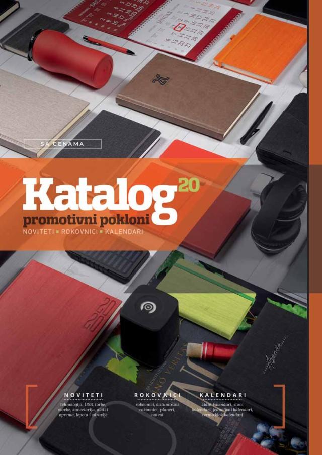 Katalog - Rokovnici, Kalendari, Noviteti 2020